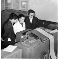 Jean Kuntzmann (1912-1992) à droite sur la photo