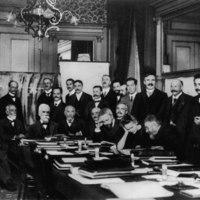 Première réunion Solvay, Bruxelles, Belgique, 1911