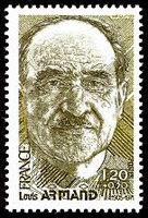 Louis Armand (1905-1971) - timbre RF de 1980