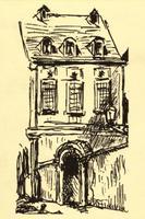 """Hôtel de Nevers (12 rue Colbert/ 58 bis rue de Richelieu, 75002 Paris), ancien siège de l'Académie Internationale d'Histoire des Sciences, abritée par Henri Berr dans le bâtiment dédié au Centre international de synthèse-Fondation """"Pour la science"""", grâce au soutien de Paul Doumer."""